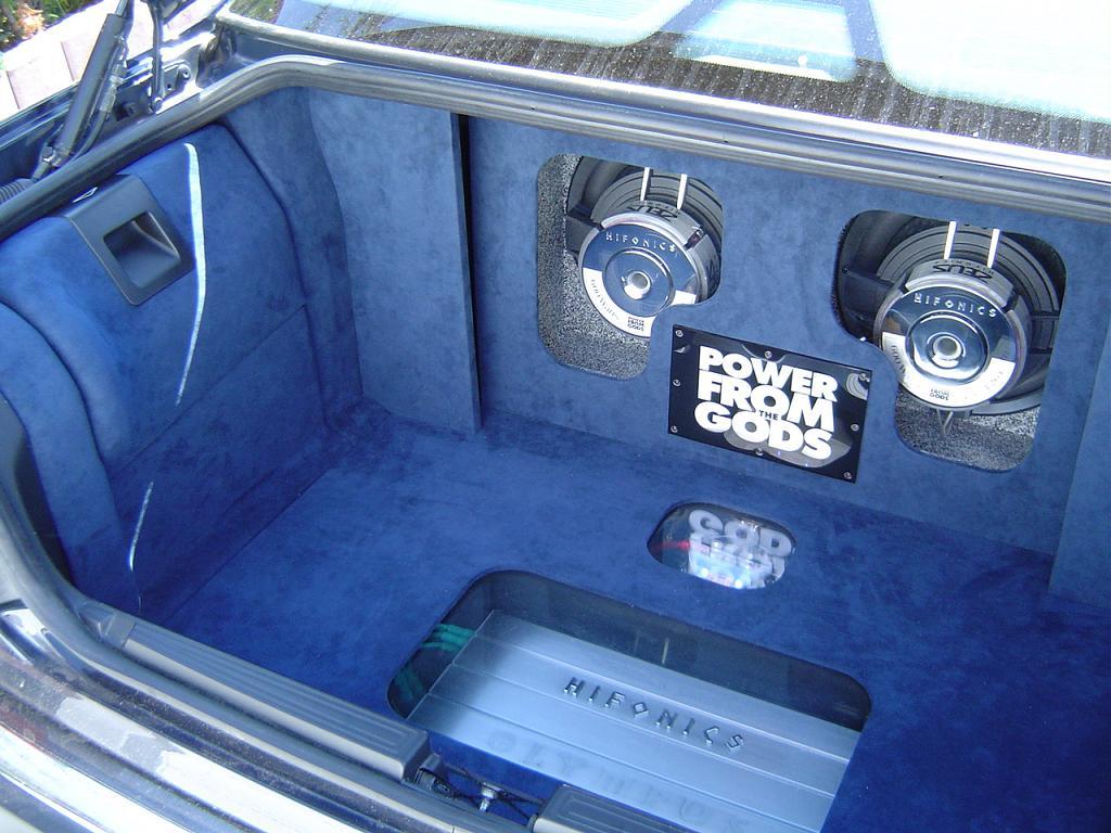 Zeigt Her Eure Kofferraumausbauten Car Hifi Amp Multimedia Amp Navigation Forum